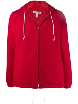 Comme Des Garcons Shirt - Red Hooded Jacket - Men