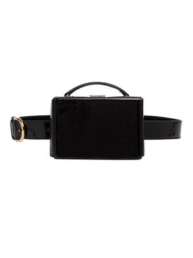 Mark Cross - Grace Belt Bag Brush Off Leather Black - Women