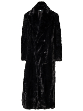 Full Length Faux Fur Coat
