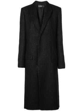 Amiri - Boucle Single-breasted Coat - Women