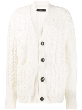 Amiri - Multipoint Short Cardigan - Women