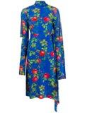 Vetements - Opened Back Floral Dress - Women