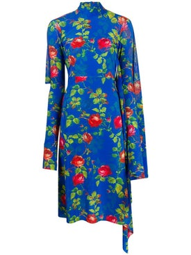 Vetements - Opened Back Floral Dress - Women