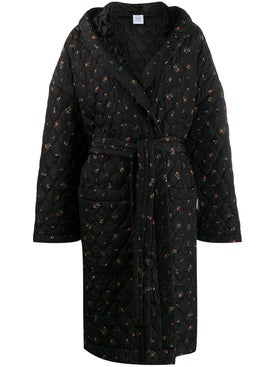 Vetements - Floral Padded Robe - Women