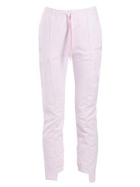 Vetements - Cut-up Sweatpants Pink - Pants
