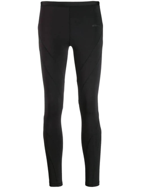 high rise panelled leggings