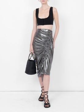Atlein - Silk Wave Skirt - Women