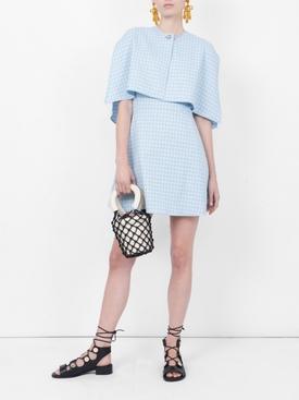 cape style mini dress