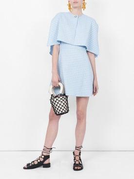 Sara Battaglia - Cape Style Mini Dress - Women