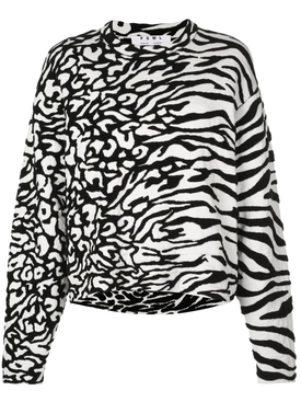 Proenza Schouler White Label - Animal Print Pullover Sweater - Women