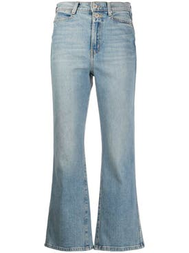 Proenza Schouler White Label - Blue Kick-flare Denim Jeans - Women