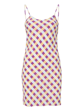 Wynwood Slip Dress, Giingham