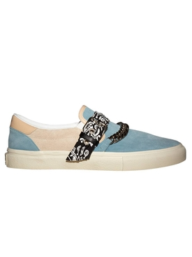 Amiri - Bandana Chain Slip-on Sneakers Cobalt/natural - Men