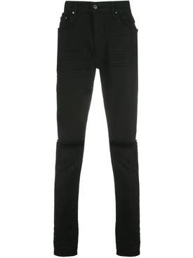 Amiri - Slim Fit Slash Jeans Black - Men