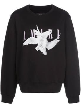 Amiri - Dove Print Crewneck Sweater - Men