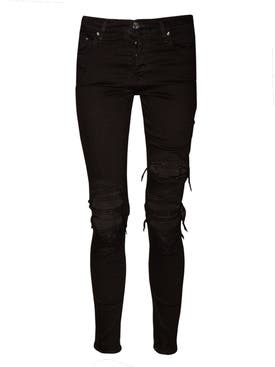 Amiri - Suede Mx1 Jean Black - Women