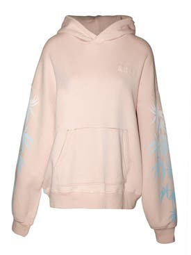 Amiri - Oversized Eternal Happiness Hoodie Salmon - Women