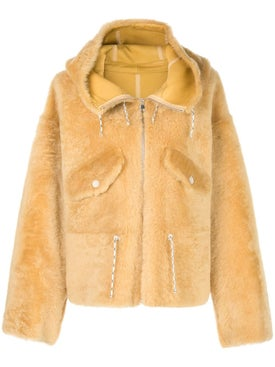 Yves Salomon - Hooded Fitted Coat - Women
