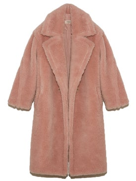 Yves Salomon - Lati Wool Coat Cupcake Pink - Women