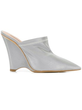 Yeezy - Angled Wedge Mules - Women