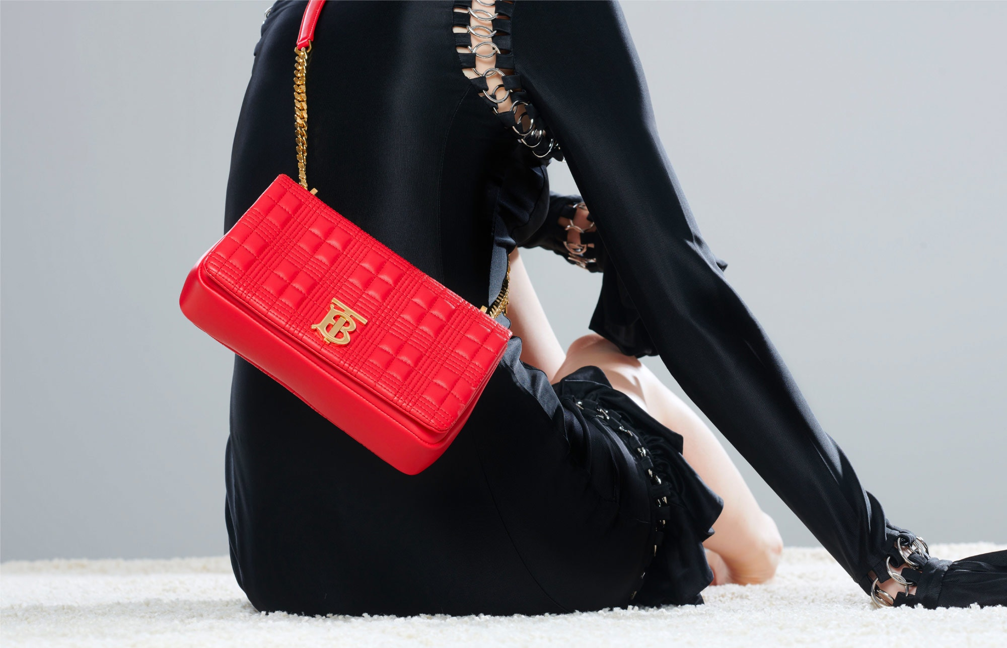 LOLA BAG IN RED
