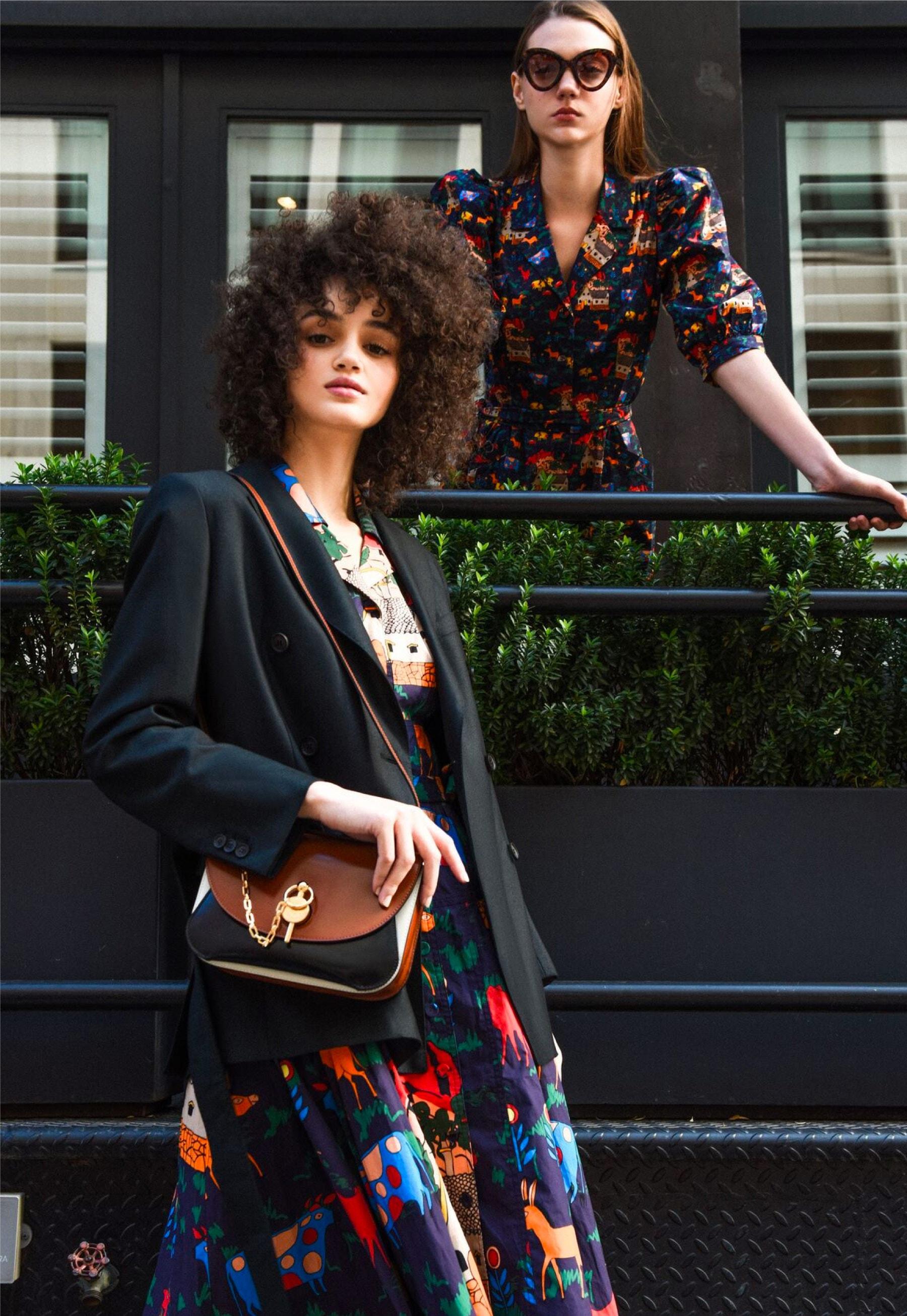 LHD Glades Dress – LHD Casitas Dress – SALVATORE FERRAGAMO Blazer – J.W. ANDERSON Keyts Bag