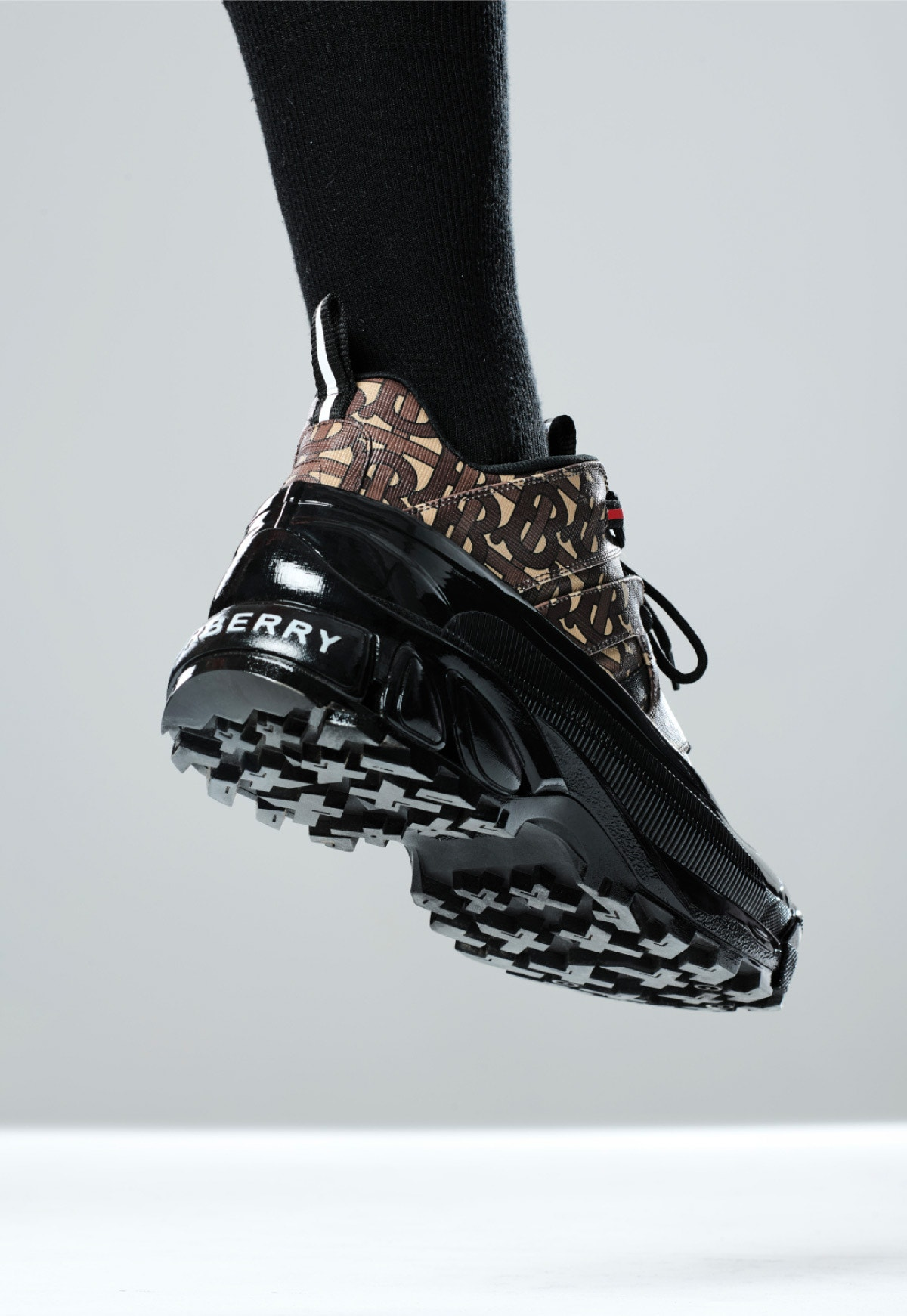 Burberry's new runway sneaker from the Autumn/Winter 2019