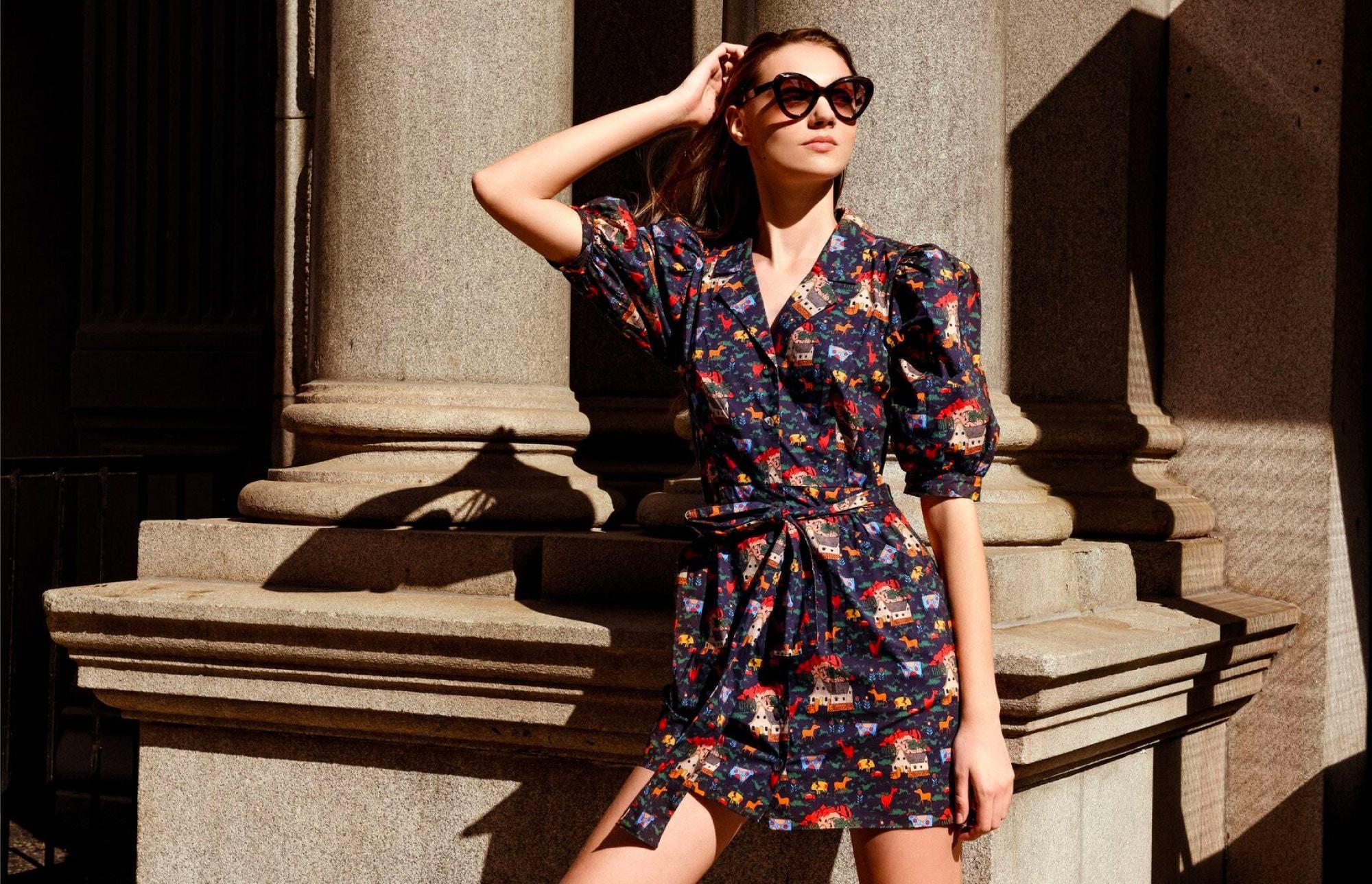 LHD Casitas Dress – LAPIMA Rita Sunglasses