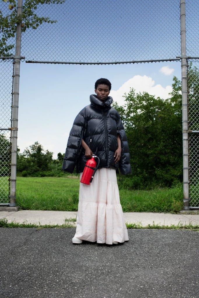 CALVIN KLEIN 205W39NYC Puffer Jacket, CALVIN KLEIN 205W39NYC Pioneer Skirt