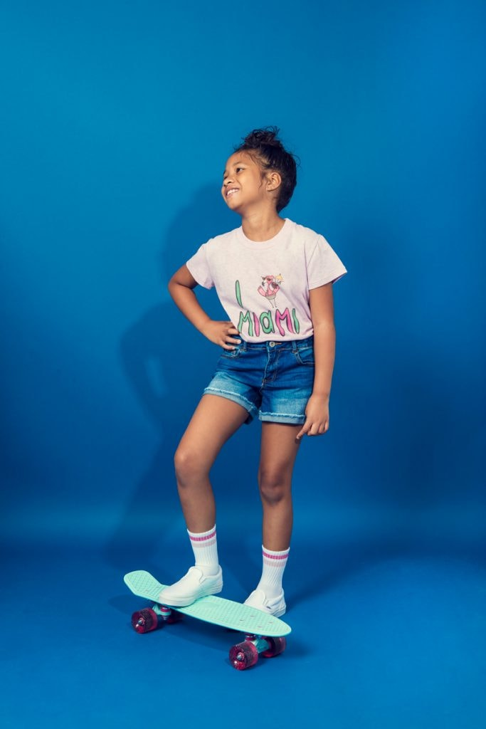 THE WEBSTER KIDS Miami T-Shirt