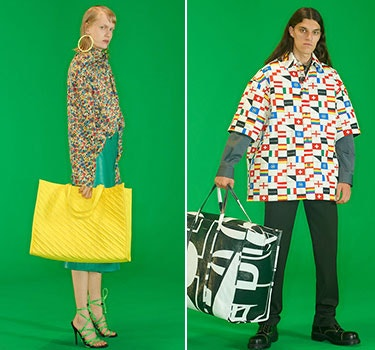 Designer Balenciaga Men and Women's Collection
