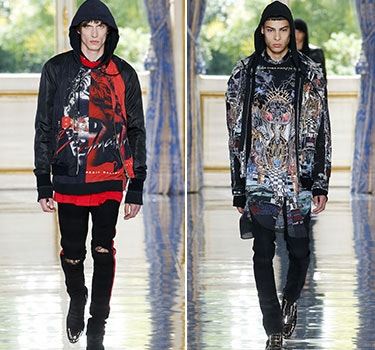 Designer Balmain Men and Women's Collection