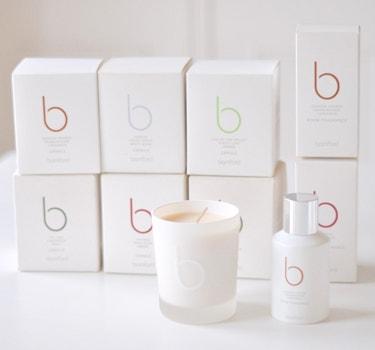 Designer Bamford Candles collection