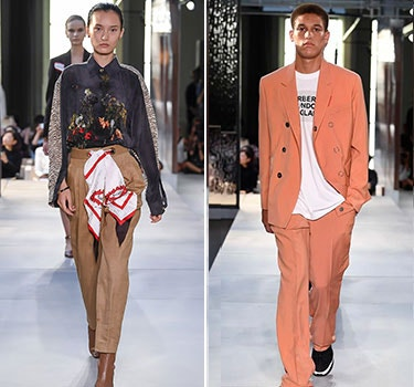 Designer Burberry Men and Women's collection