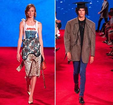 Designer CALVIN KLEIN 205W39NYC Men and Women's collection