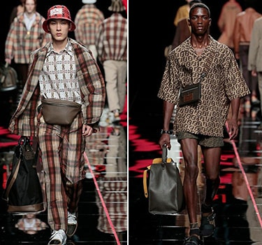 Designer Fendi Men's collection