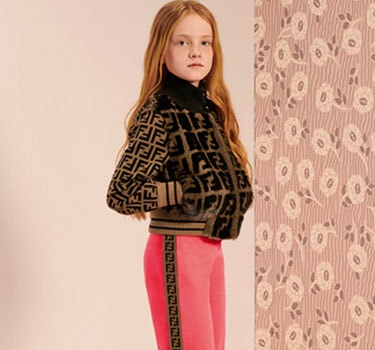 Designer Fendi Kids Girl's collection