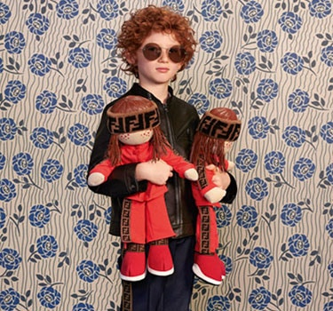 Designer Fendi Kids Boy's collection