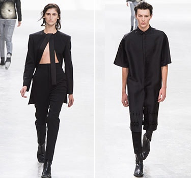 Designer Haider Ackermann Men and  Women's Collection