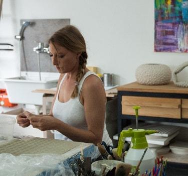 Designer Helene Kirchmair