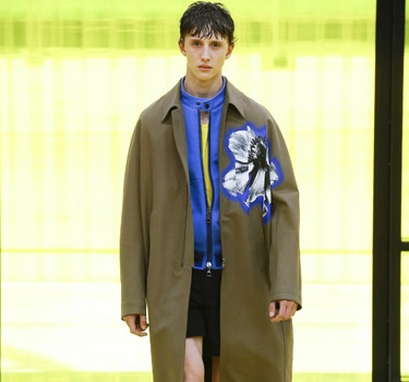 Designer Neil Barrett Men's collection