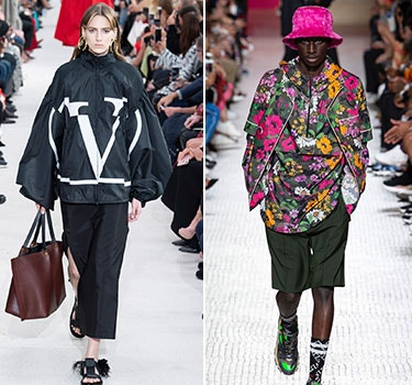 Designer Valentino Men and Women's Collection