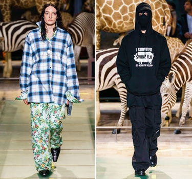 Designer VETEMENTS Men and Women's Collection