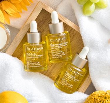 Clarins Skincare Brand