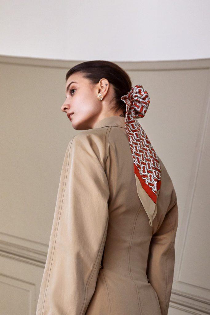 PROENZA SCHOULER Tie-Dye Rib Knit Top