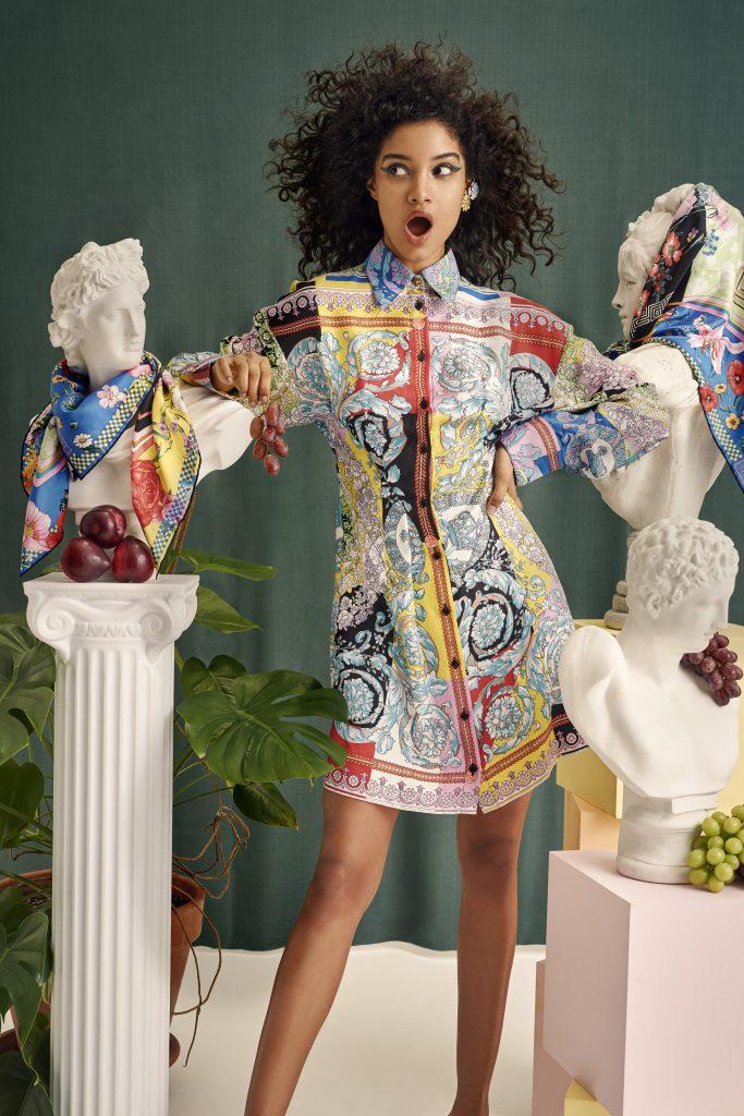 VERSACE Barocco Shirt Dress