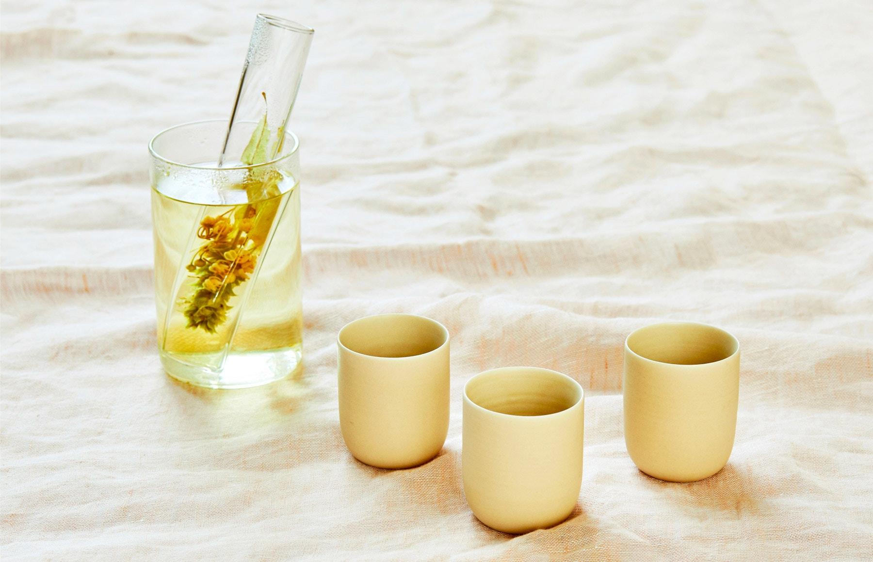 LAURENCE BRABANT Tea Ball Tea Tumbler – MAOMI Kaya Porcelain Espresso Cup