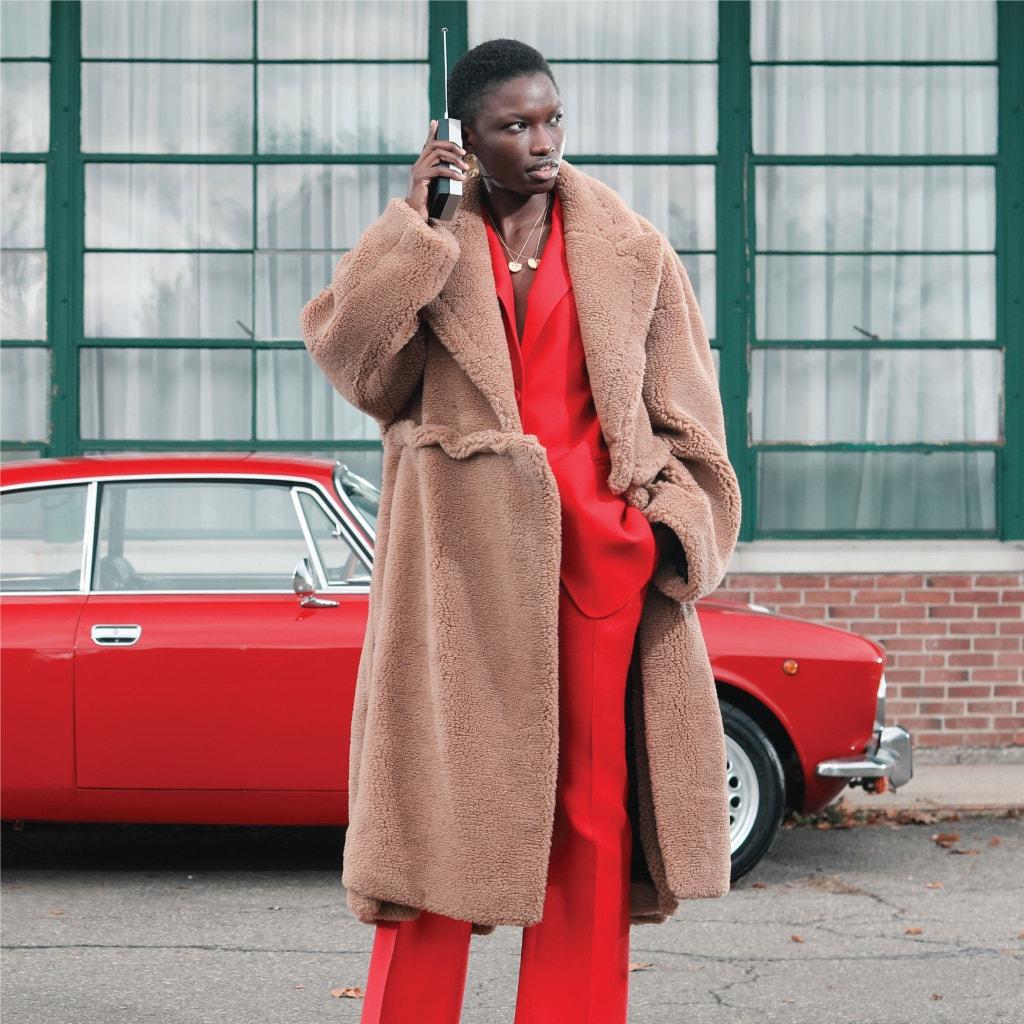 OFF-WHITE Oversized Camel Hair Coat, VALENTINO Classic Blazer