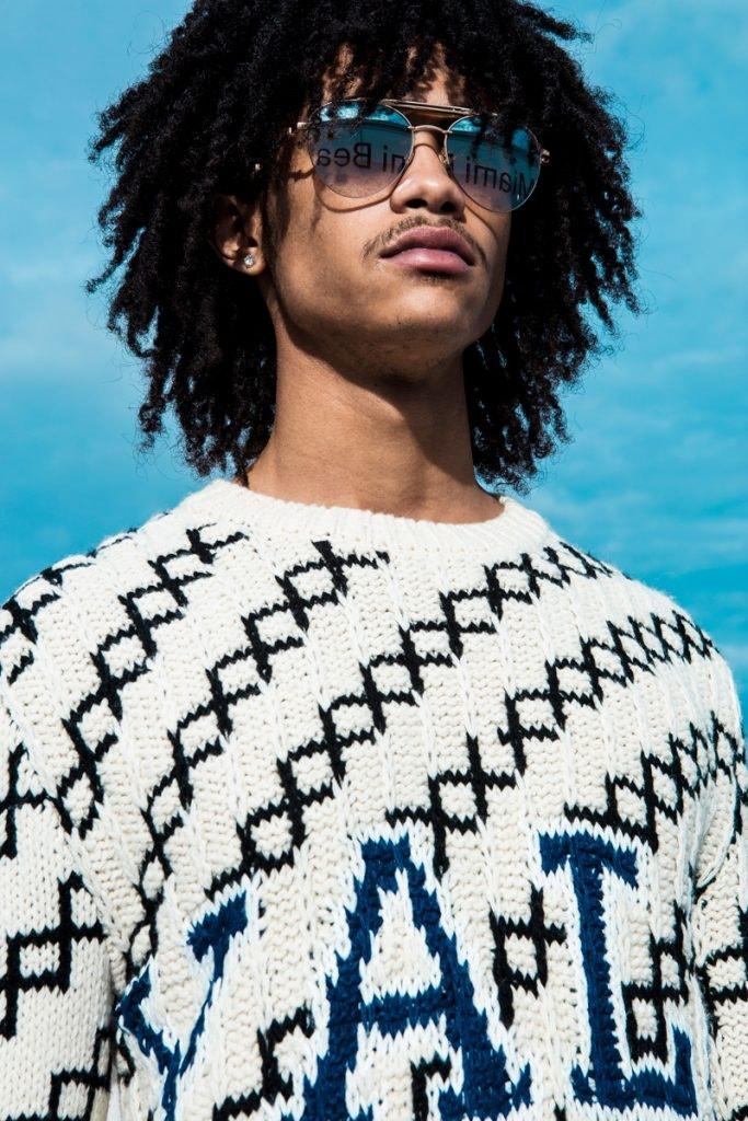 CALVIN KLEIN 205W39NYC Sweater, MR LEIGHT Sunglasses