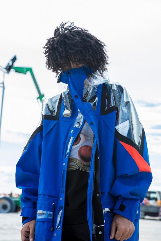 MAISON MARGIELA Hooded Raincoat